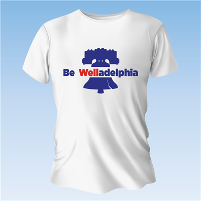 Be Welladelphia T-Shirt Small