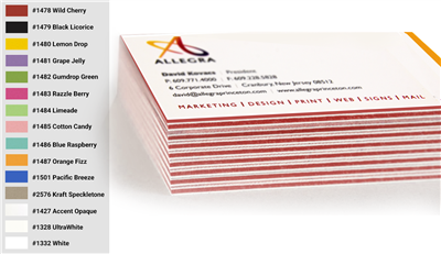 Triple Thick Business Cards - Single Sided