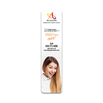 2x8 Bookmark - Single Sided